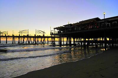 Photograph - Redondo Pier South by Richard Omura