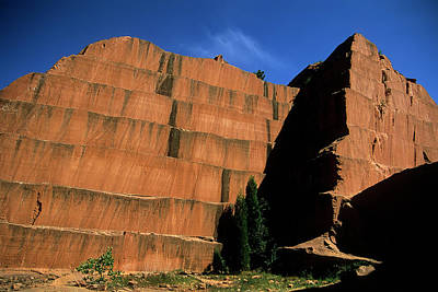 Photograph - Redrocks Stone Quarry by John Brink