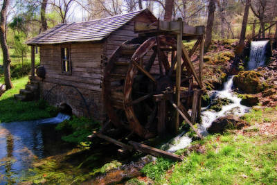 Photograph - Reed Springs Mill by Steve Stuller