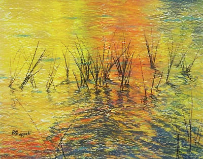 Reeds I Art Print