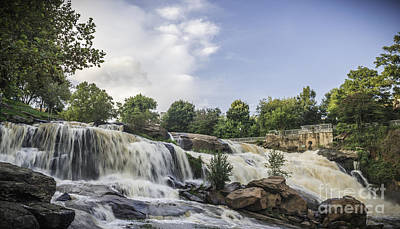 Photograph - Reedy High Flow by David Waldrop