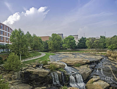 Photograph - Reedy River Looking To Town by David Waldrop