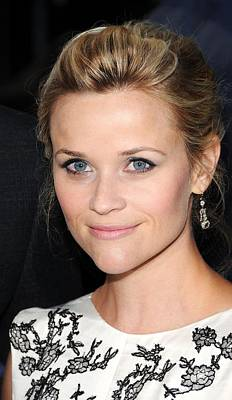 Reese Witherspoon At Arrivals For Water Art Print by Everett