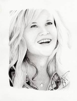 Reese Witherspoon Art Print by Rosalinda Markle