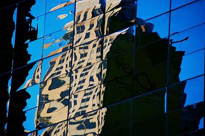Photograph - Reflected Abstract by Eric Tressler