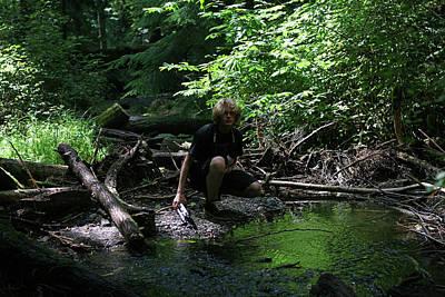 Photograph - Reflected In Green by Lorraine Devon Wilke