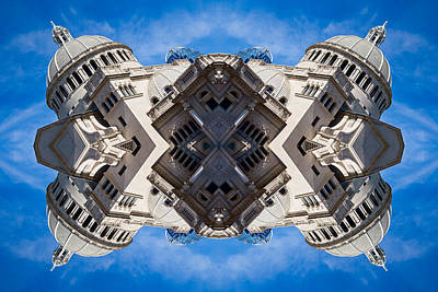 Reflecting Boston In My Mind Art Print by Val Black Russian Tourchin