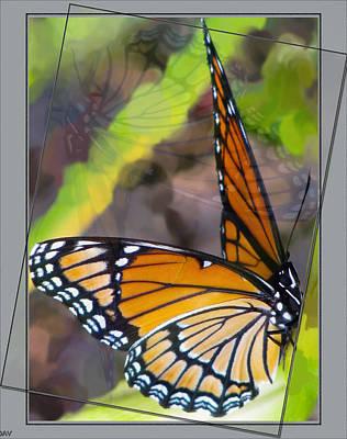 Reflection Back Art Print by Debra     Vatalaro
