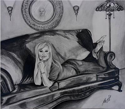 Drawing - Reflection by Carolyn Ardolino