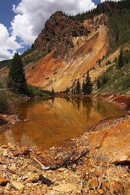 Silverton Colorado Photograph - Reflection In Silverton by Angie Wingerd