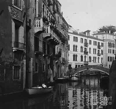 Photograph - Reflection In Venice  by Nancy Patterson