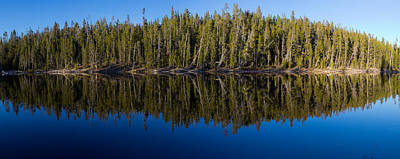 Yellowstone Wall Art - Photograph - Reflection On Schaup Lake by Twenty Two North Photography