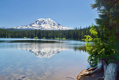 Photograph - Reflection On The Lake by Ansel Price