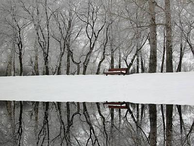 Digital Art - Reflections 2 by Stuart Turnbull
