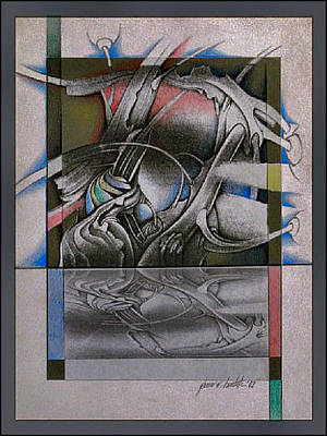 Mixed Media - Reflections 2002 by Glenn Bautista