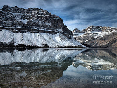 Photograph - Reflections At Bow Lake by Tara Turner