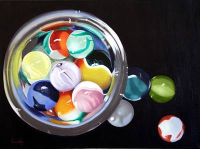 Painting - Reflections by Candy Prather