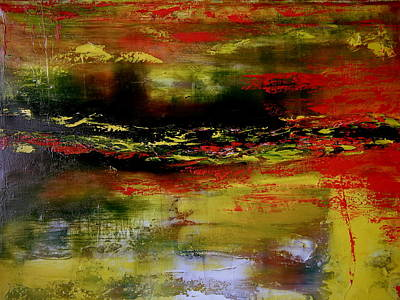 Painting - Reflections by David Hatton