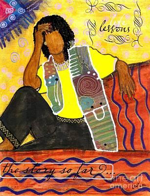 Reflections  How I Got Here Art Print