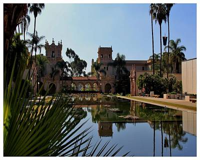 Photograph - Reflections In Balboa Park by Frank Wickham