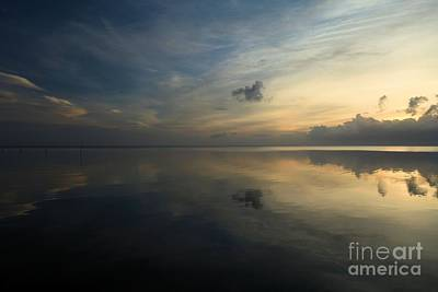 Photograph - Reflections In The Sound by Adam Jewell