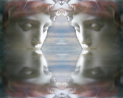Digital Art - Reflections by Kathleen Holley