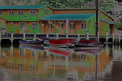 Reflections Of Color Art Print by Carolyn Stagger Cokley