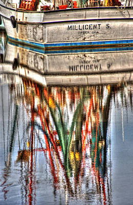 Reflection Photograph - Reflections Of Darien by Greg and Chrystal Mimbs