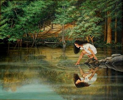 Painting - Reflections Of God's Love by Ruth Gee