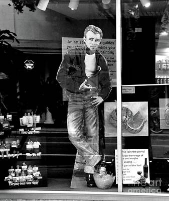 Photograph - Reflections Of James Dean by John Black