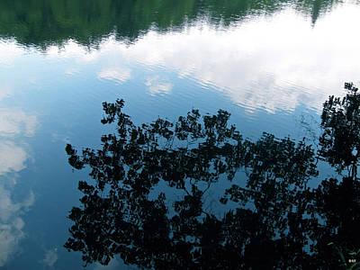 Cloud Like Glass Photograph - Reflections Of Nature by Debra     Vatalaro