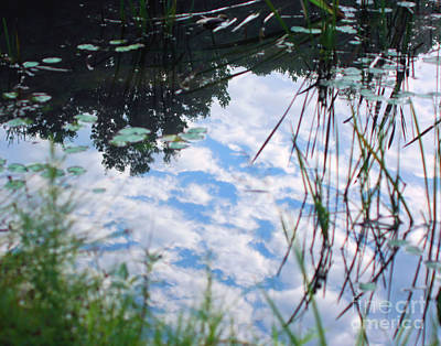 Reflections Of The Sky Art Print by Smilin Eyes  Treasures