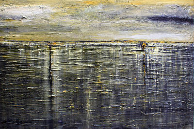 Painting - Reflections Of Yesterday Series  by Dolores  Deal