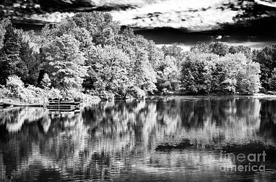 Reflections On The Lake Art Print