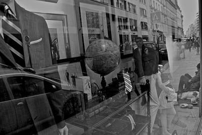 Photograph - Reflections On The World by Eric Tressler