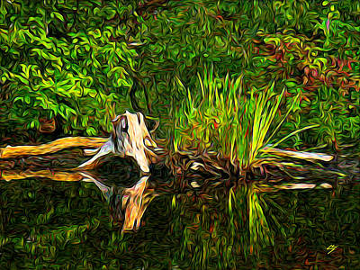 Digital Art - Reflections by Sotiri Catemis