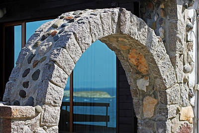 Photograph - Reflections Through An Arch by Tony Murtagh