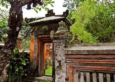 Photograph - Regal Gate To Bali Museum by Kirsten Giving