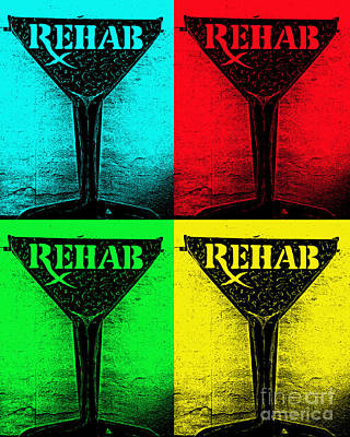 Martini Royalty-Free and Rights-Managed Images - Rehab by Susan Cliett