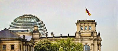 Reichstag Dome Art Print by Jon Berghoff