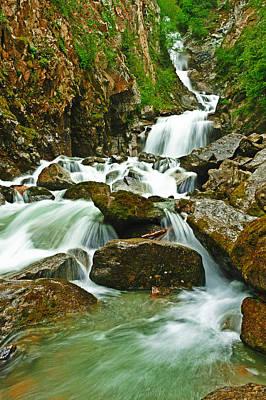 Photograph - Reid Falls by Edward Kovalsky