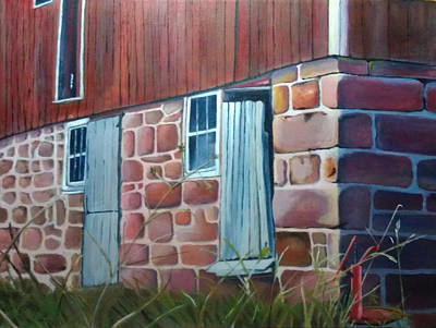 Painting - Reifsteck Farm 1 by Robert Foss