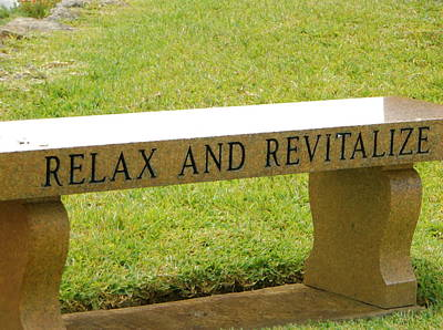 Photograph - Relax And Revitalize by Stacey Robinson