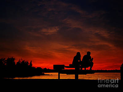 Photograph - Relaxing Sunset by Ms Judi