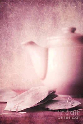 Relaxing Tea Art Print by Priska Wettstein