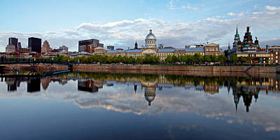 Old Montreal Photograph - Relection Of Old Montreal by Nino H. Photography