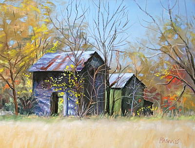 Pastel Barns Painting - Relics Of The Past by Patricia Harriss