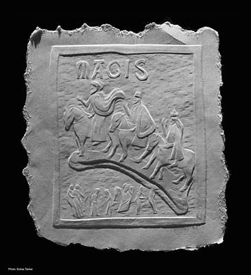 Photograph - Relief On Paper by Suhas Tavkar