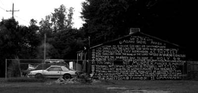 Photograph - Religious Rant- Jackson Street - Monroe Louisiana by Doug  Duffey