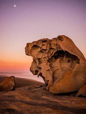 Remarkable Rocks Art Print by Ryan  Carter